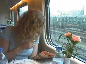 Luzérne to Milan - high speed train