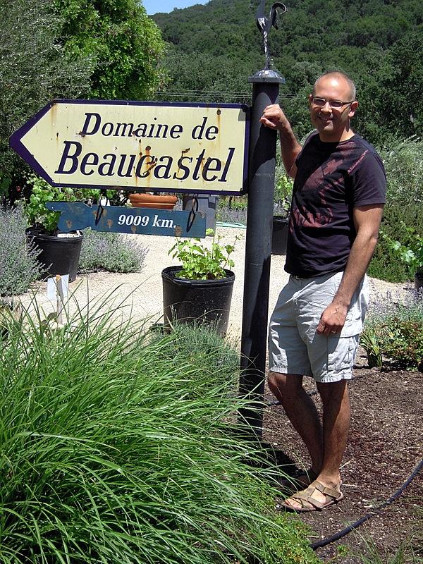 how far to Domaine de Beaucastel?!?