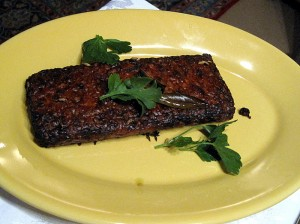 roasted champagne tempeh