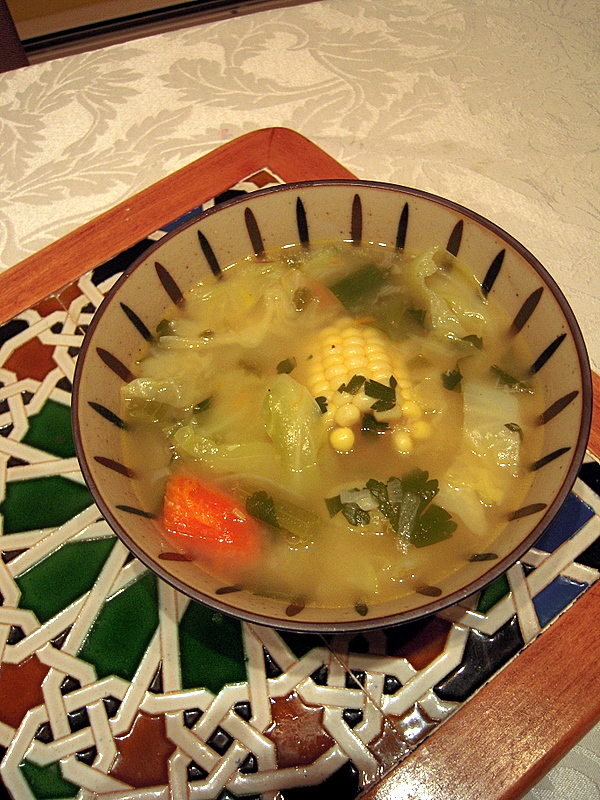 almost vegetarian Sancocho