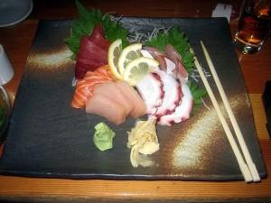 sashimi Sanraku style