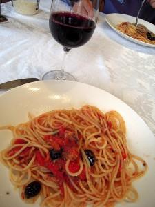 my tomato pasta