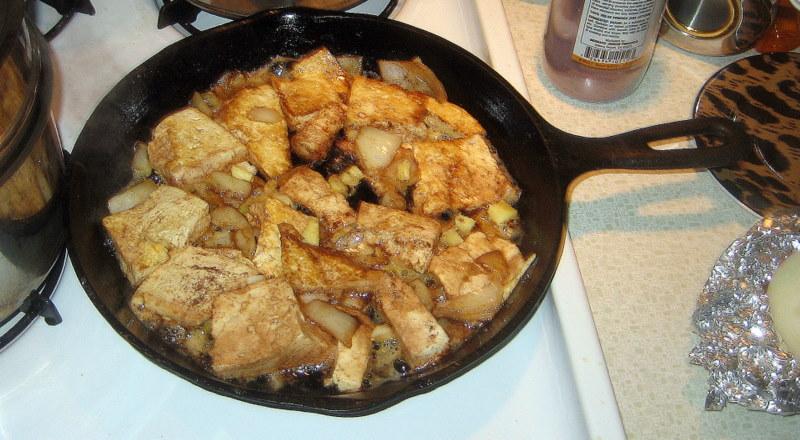 preparing timely tasty tophu