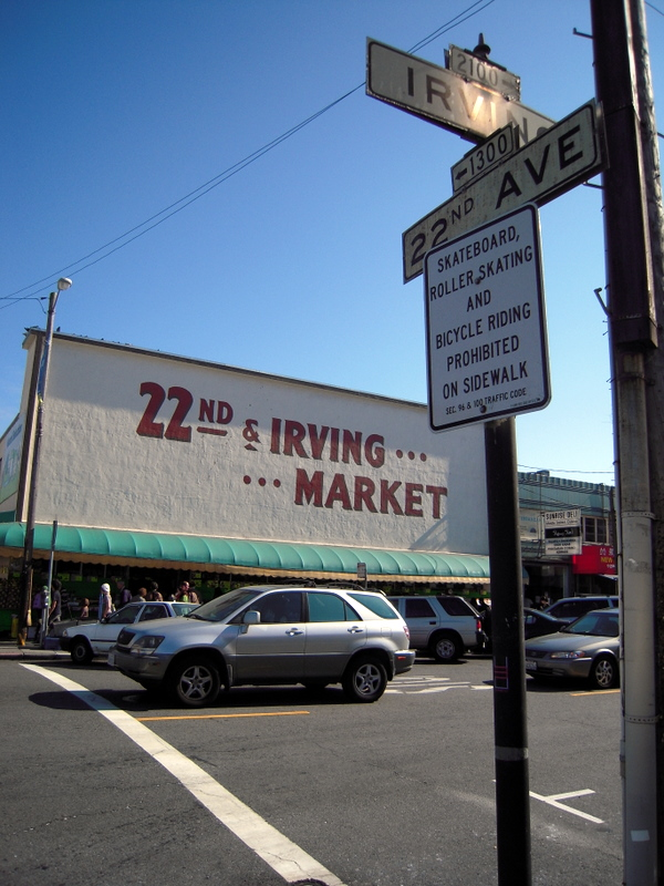 22nd and Irving Market at 22 and Irving