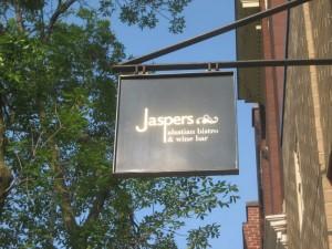 Jasper's street sign