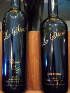 Trentadue La Storia reserve wines were all excellent