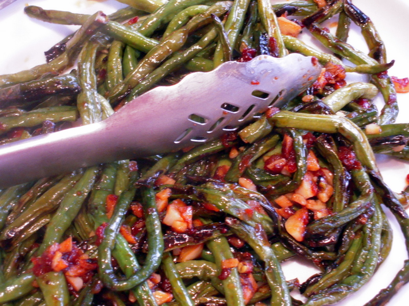 fried sichuan green beans 干 stir fried green beans with dry fried ...