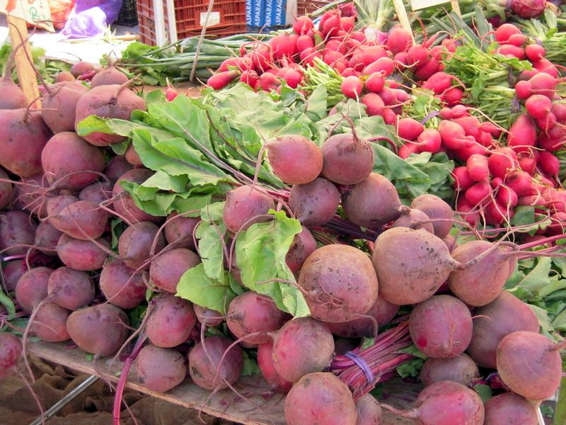 beets and radish