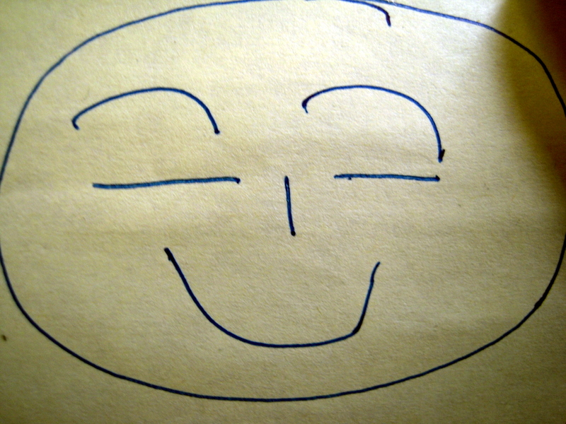 smile no matter how you feel inside!!!