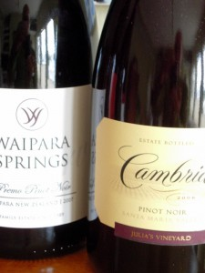 2006 Cambria pinot oir was our favorite