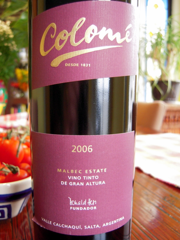try some Argentine malbec very soon!