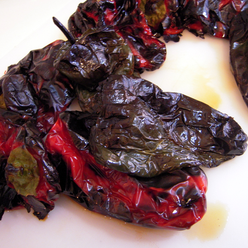 fire-roasted peppers for Pindzur