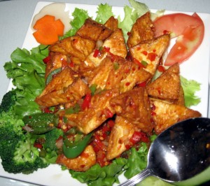 yummy spicy tofu