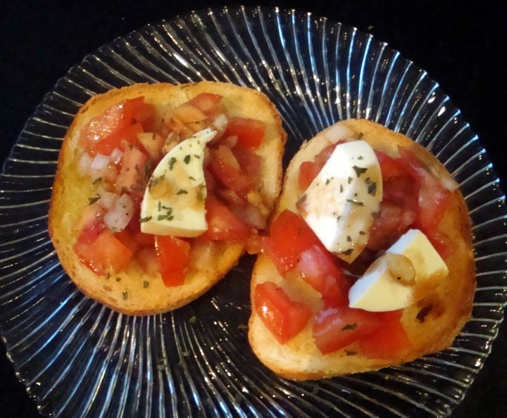 bruschetta a la Child
