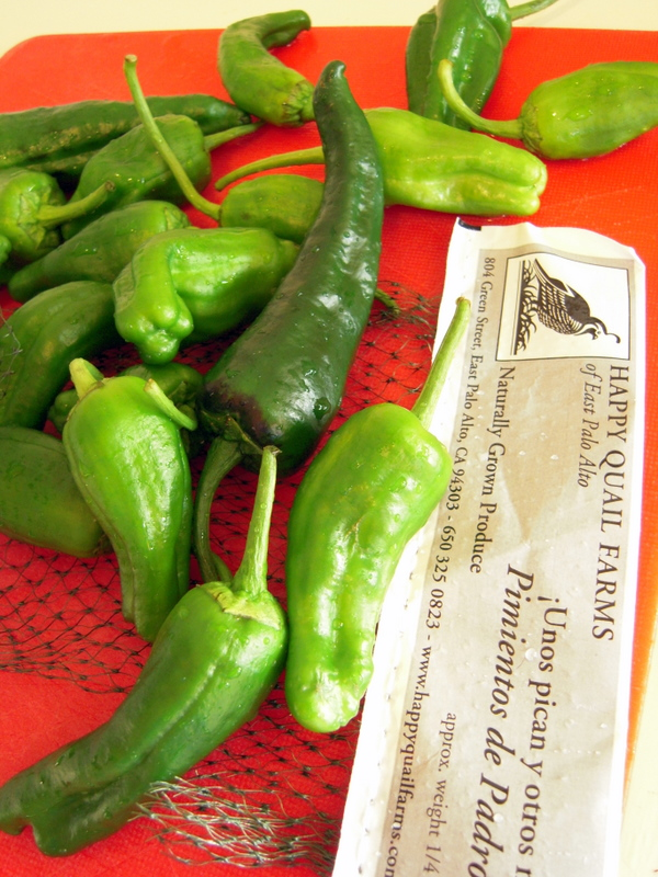 fresh peppers from happy quail farms