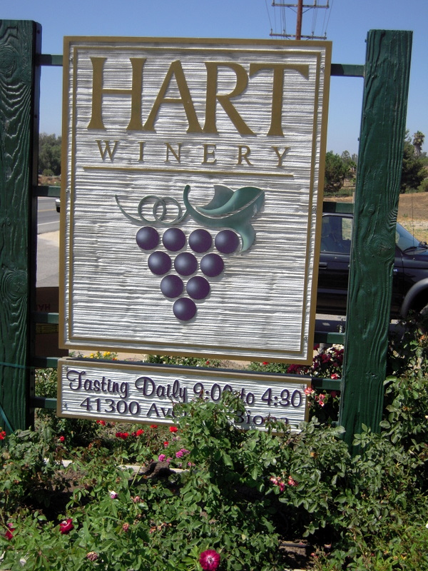 welcome to hart winery