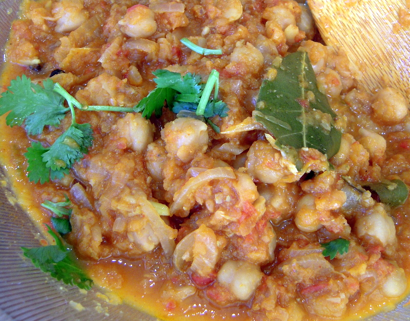my spicy chana recipe