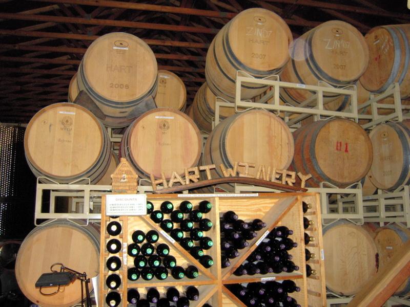 hart winery interior