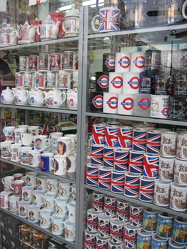 British tacky tourist crap