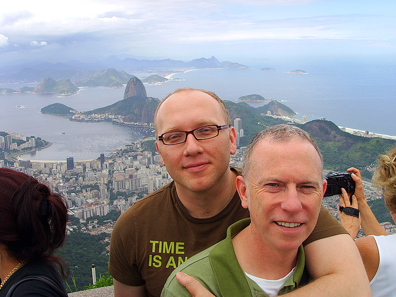 view of that other Sugar Loaf in Rio de Janeiro
