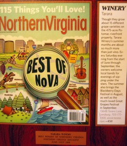 Northern Virginia in praise of Tarara