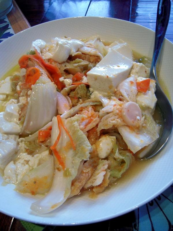 kimchi tofu