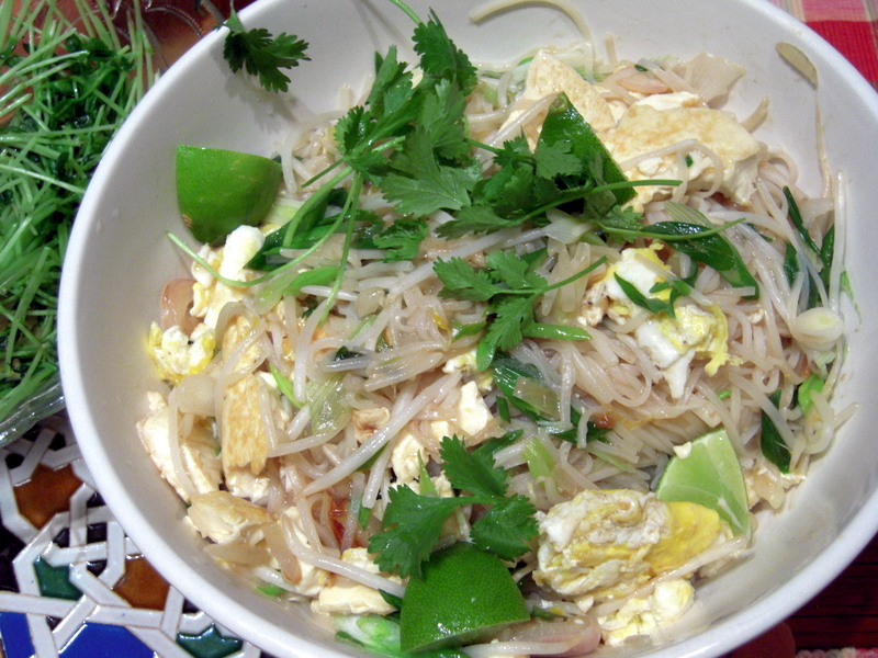almost vegetarian pad Thai