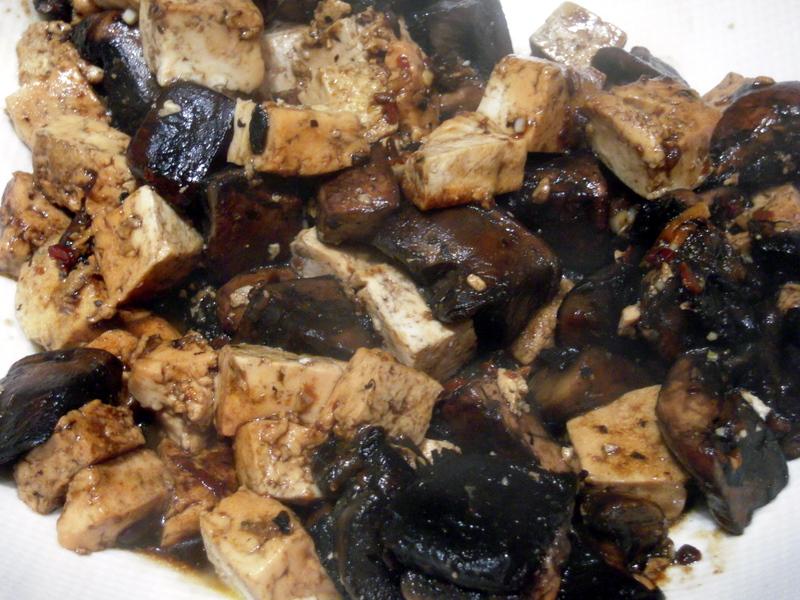 portobello mushroom tofu