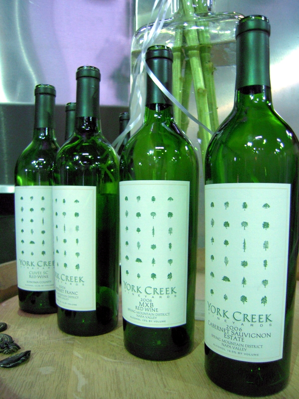 used York Creek bottles
