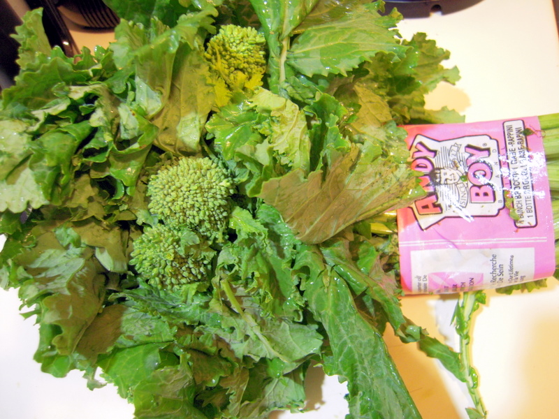 fresh broccoli rabe