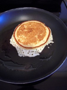 frying the pancakes is an art that you can easily learn