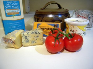 key ingredients for mac'n'cheese for adults
