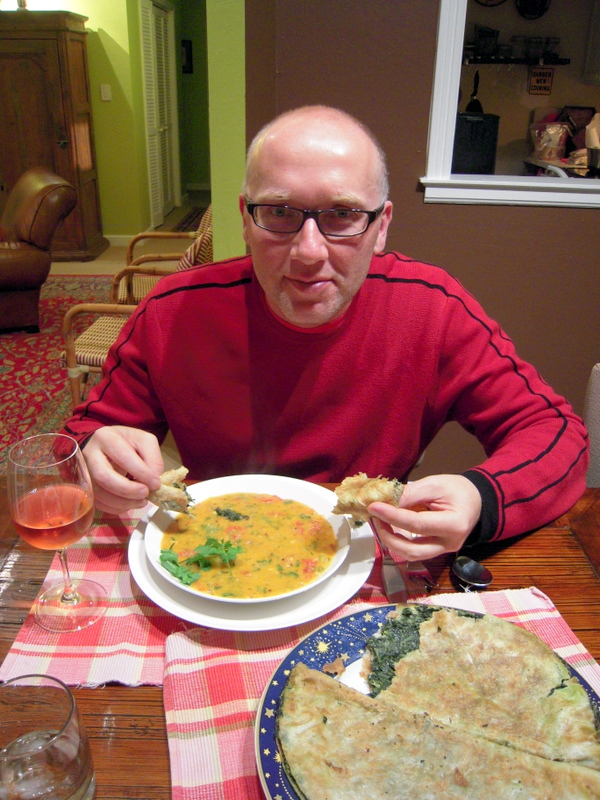 savoring the red dal
