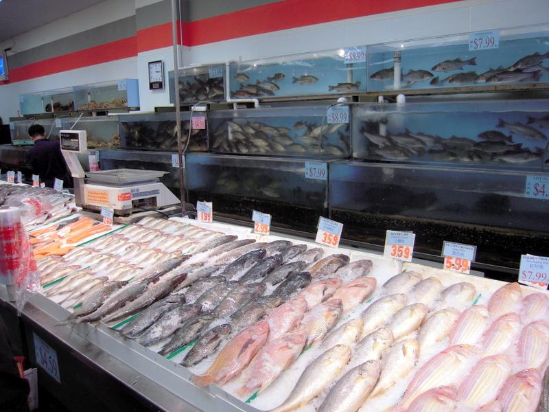 Richmond new may wah supermarket san francisco for San francisco fish market