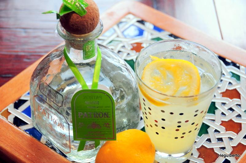 Patrón tequlia Meyer cocktail