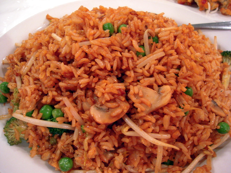 Hong Shing vegetarian fried rice