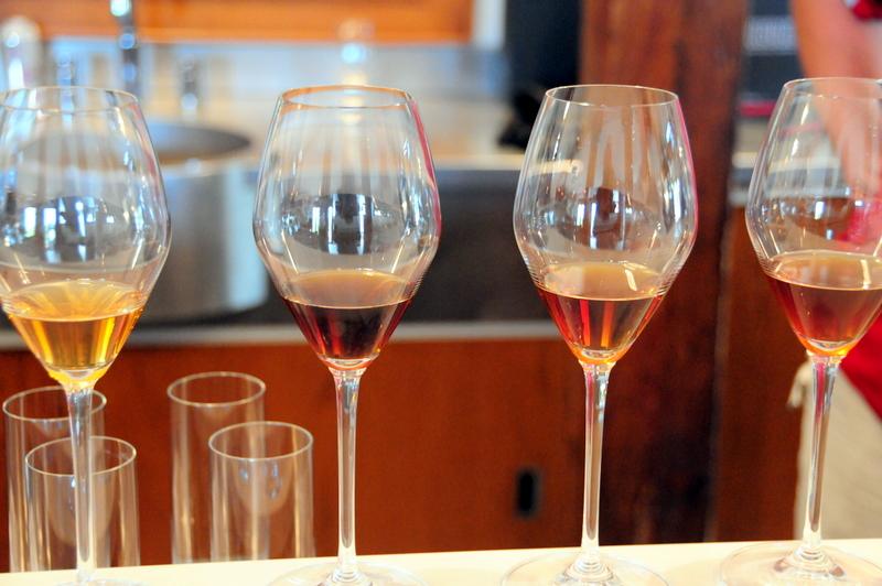Inniskillin library ice wine tasting