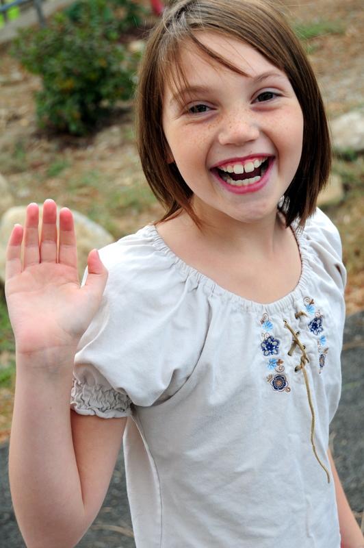 Maddie says hi