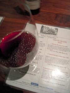 Press Club really is like a Napa wine tasting excursion