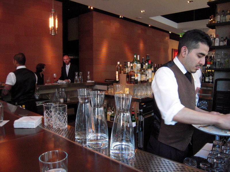 elegant bar at Prospect