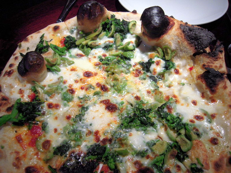 broccoli rabe with garlic sausage broccoli rabe pizza with roasted ...