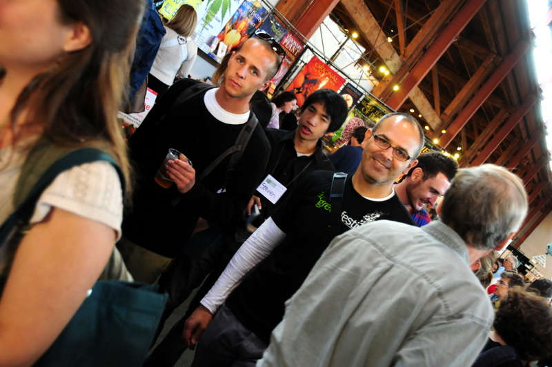 another kind of social network, this time at the Green Festival in San Francisco