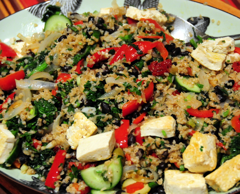 bulgur love in hommage to the Summer of Love and modern hippies everywhere