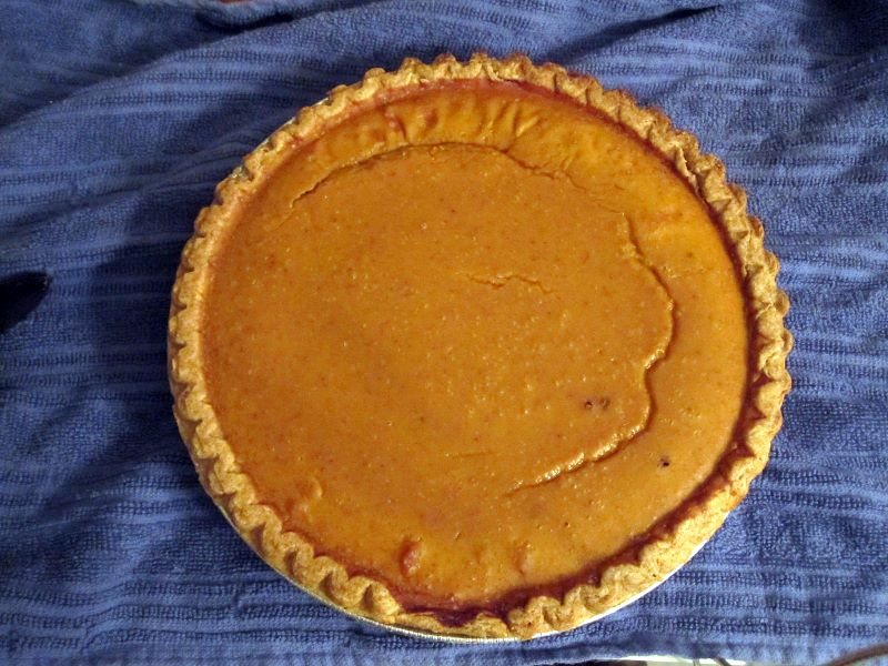 healthier-than-it-should-be pumpkin pie