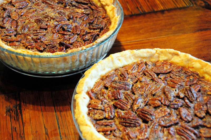my classic pecan pies