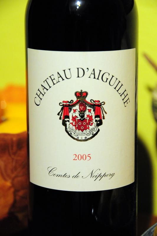 2005 Château d'Aiguilhe Côtes de Castillon