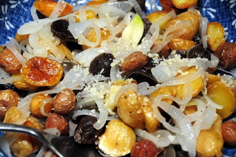 batatinha frita com vinagre
