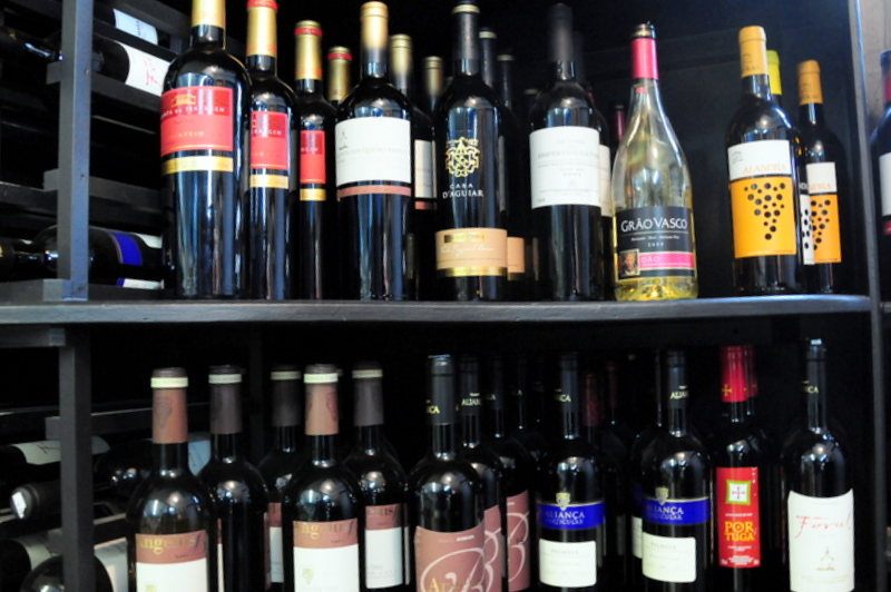 some Portuguese wines for sale