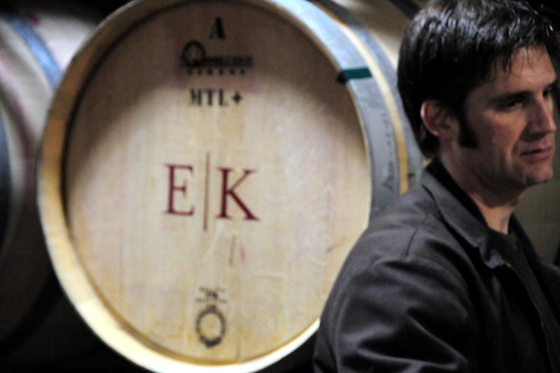 Kent Humphrey giving the tasting at Eric Kent