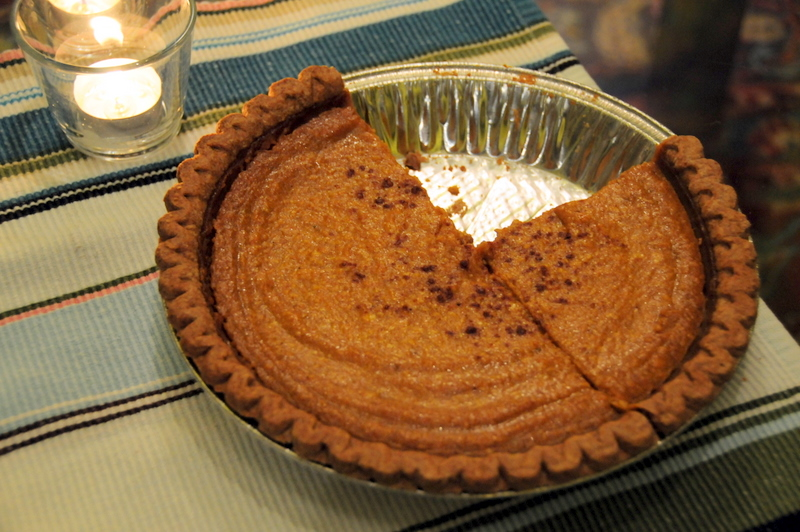 Pumpkin Pie Obsession, the Sequel, or Pumpkin Pie à la Skinny